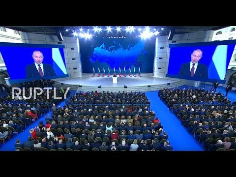 LIVE: Putin delivers annual address to Russia's Federal Assembly - ENG