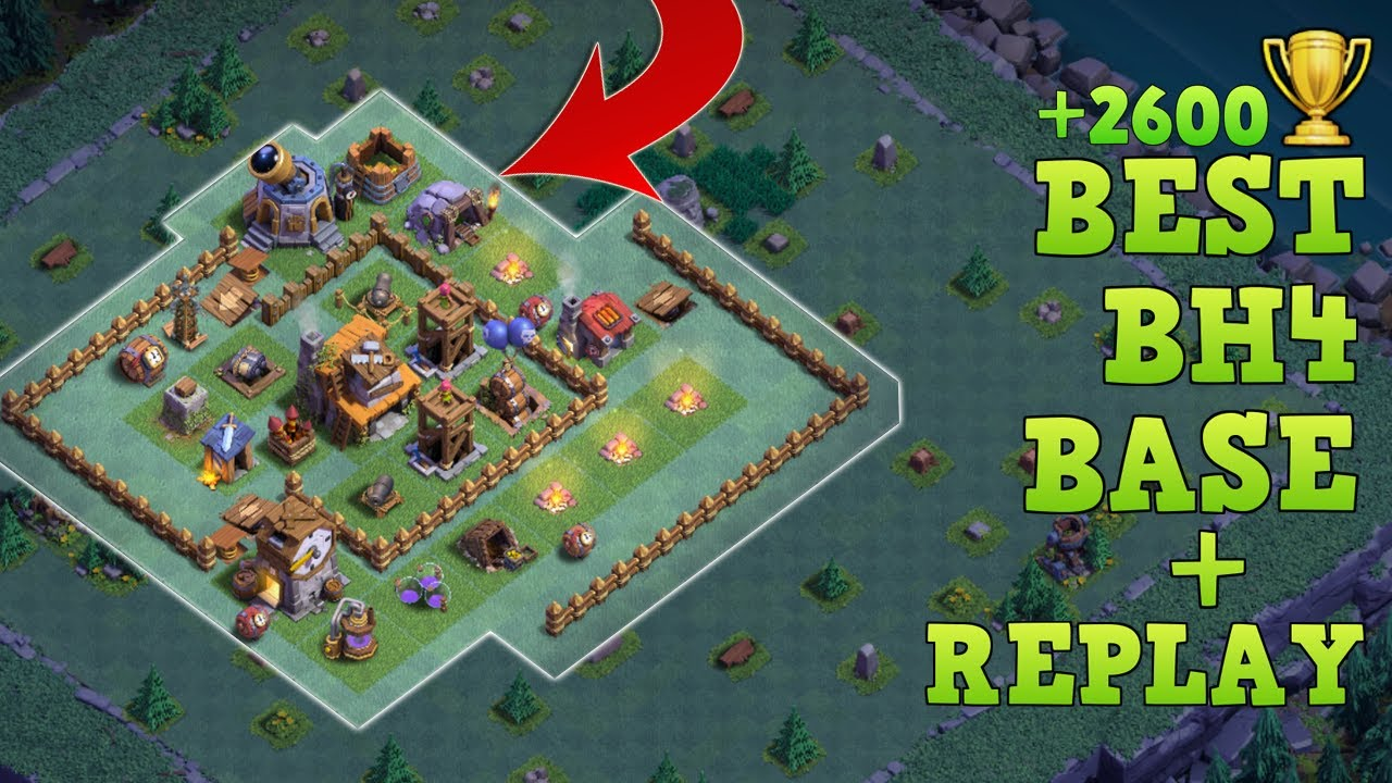 best builder hall 4 base