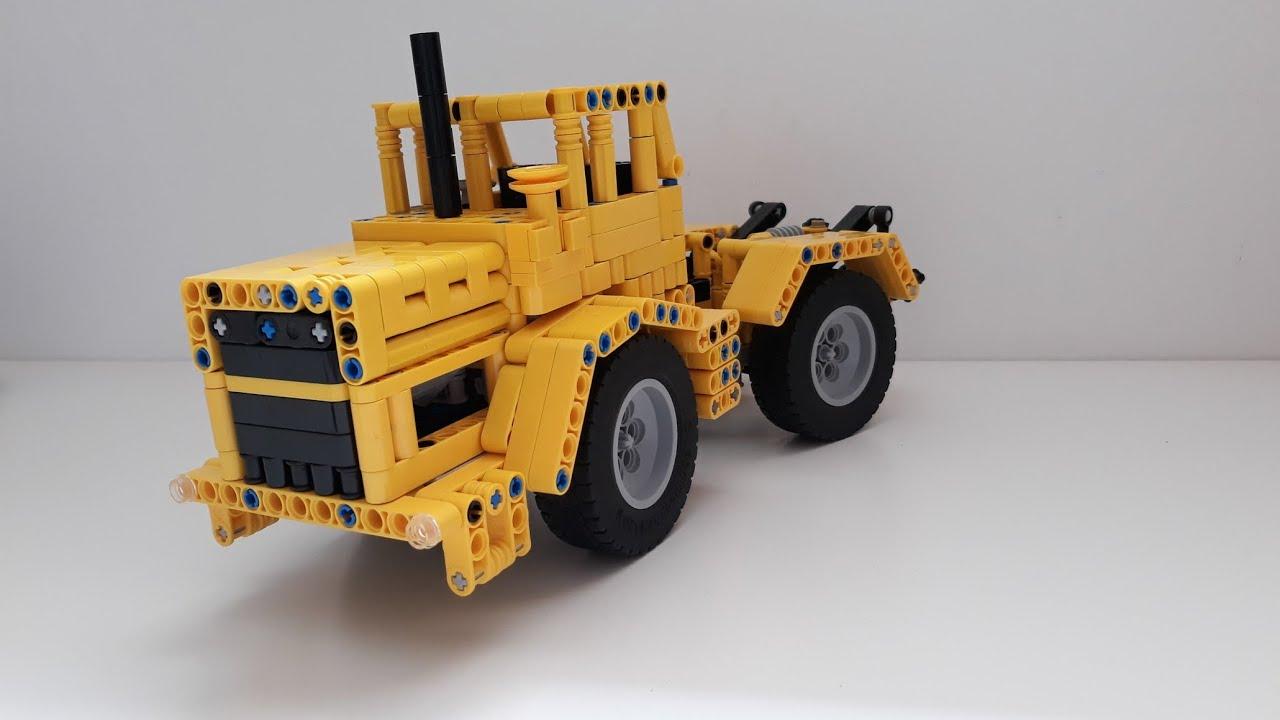 Картинки трактор кировец из лего