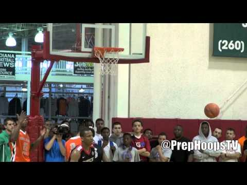 JaQuan Lyle 2014 Huntington Prep highlights at the Spiece Field House