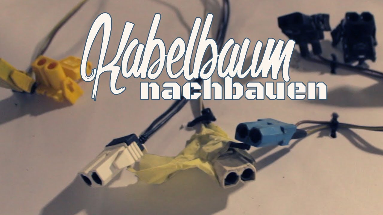 BMW e30 320is//Kabelssatz bauen//Kabelbaum Restauration - YouTube