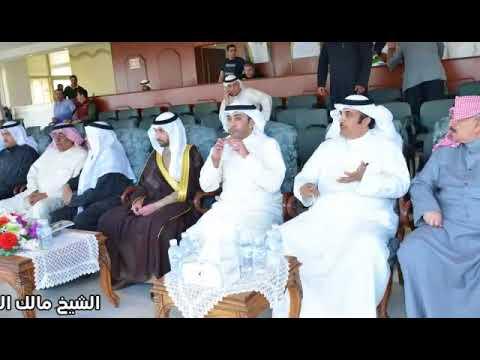 الشيخ مالك الفيصل أناب عن معالي #محافظ_الفروانية لتوزيع جوائز مسابقة كأس المحافظ لسباقات الخيل🐎