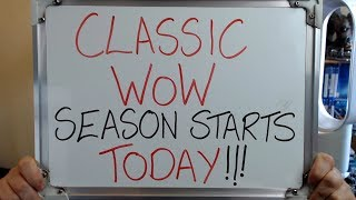 Classic Wow Season Starts Today Wow Reactivation
