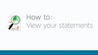 How to view your statements with Qtrade Investor
