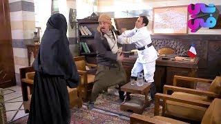 عقلو طار  واتهجم على اختو لما عرف انو مو بنت بعد ماكشف عليها رئيس المخفر - عطر الشام