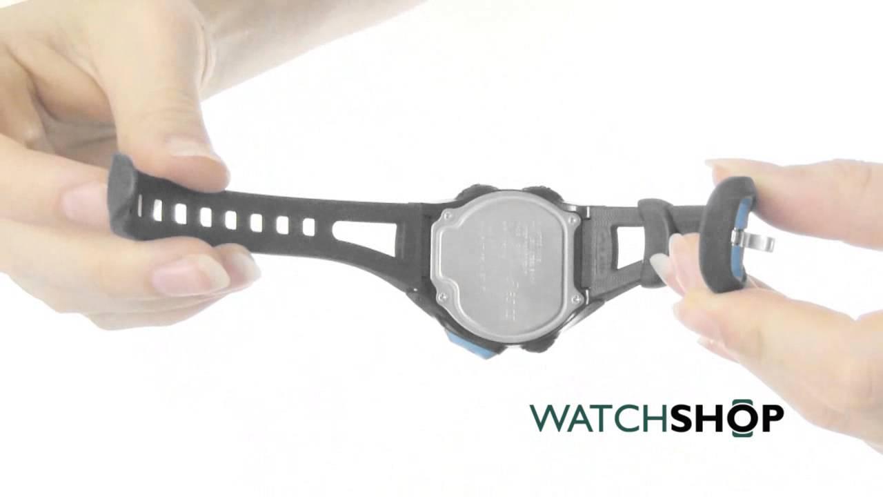 ba12594fc61 Asics Unisex Race Regular Alarm Chronograph Watch (CQAR0102) - YouTube