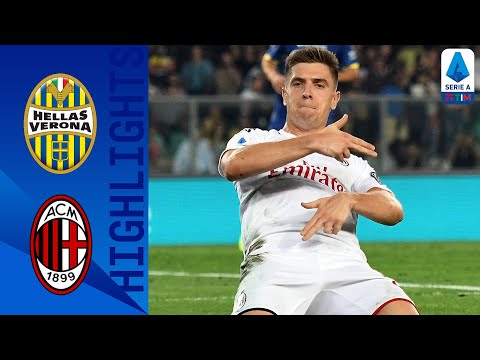 Hellas Verona 0-1 Milan | Piątek Scores the Winner as Milan Beat 10-man Verona | Serie A