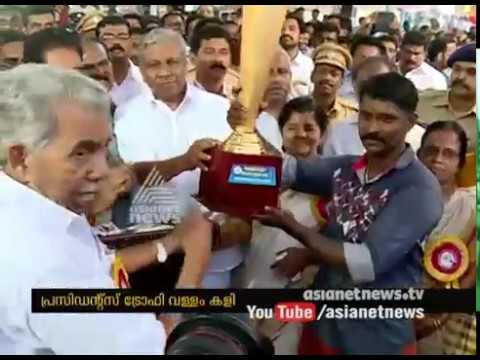 Kattil Thekkethil lifts President's trophy