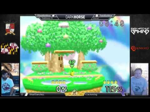 DH25 - BarkSanchez (Polygon Pika,  Pika) Vs. iCactusdog (Green Pika) SSB64 Winner's Q - Smash 64
