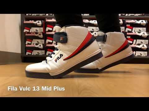 Fila Vulc 13 Mid Plus - YouTube