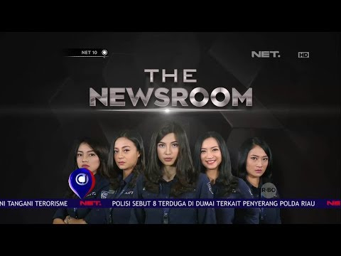 "Cuplikan Program Terbaru NET ""The News Room""  -NET10"