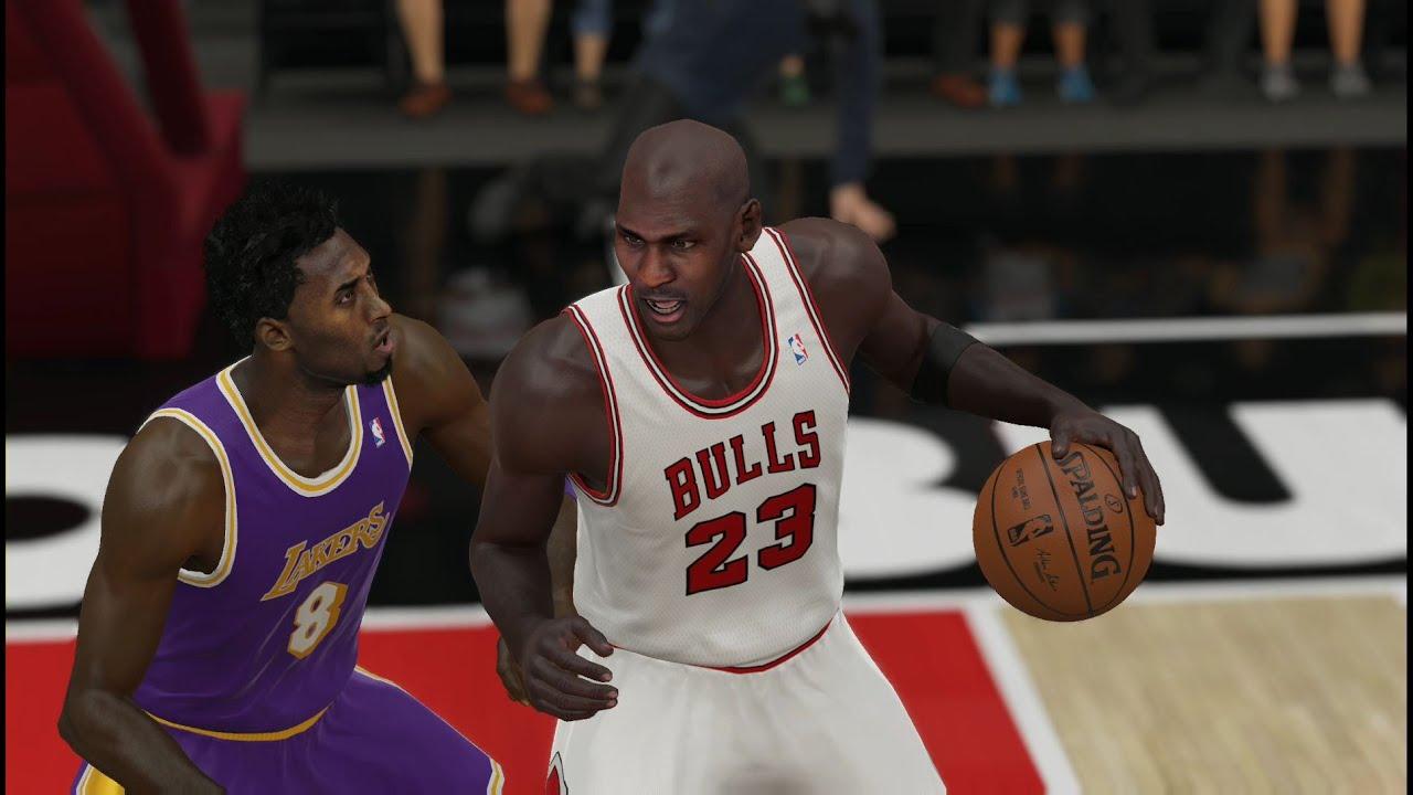 Nba 2k15 Xbox One Gameplay Michael Jordan 97 98 Vs Kobe Bryant 97 98 Lakers Vs Bulls