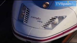 AVE FAST TRAIN Tren de Alta Velocidad Malaga Madrid, TVSpain thumbnail