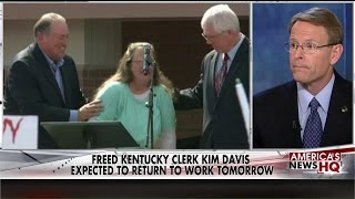 Tony Perkins Defends Kim Davis: 'She's Not Forcing Her Beliefs on Anyone'