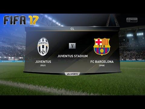 FIFA 17 - Juventus vs. FC Barcelona @ Juventus Stadium