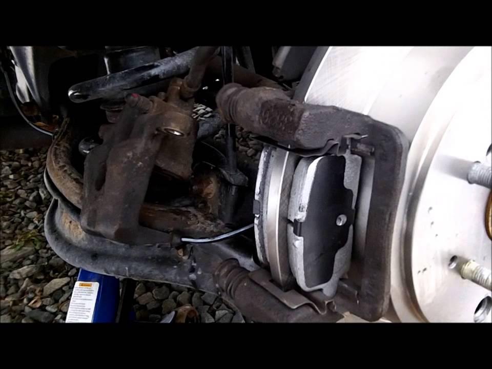 diy  honda pilot brake  rotor replacement youtube