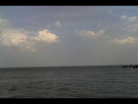 Space Shuttle Sonic Booms over Titusville - STS-119 - YouTube