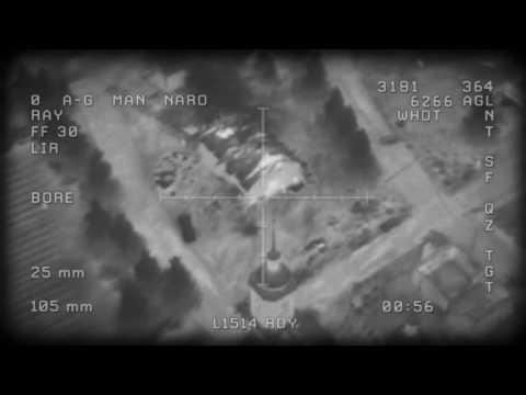 USMC AC-130 GUNSHIP KILLING ISIS [18+] [SYRIA] [ALEPPO]