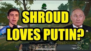 SHROUD REACTS TO STRANGE DONATION :putin: