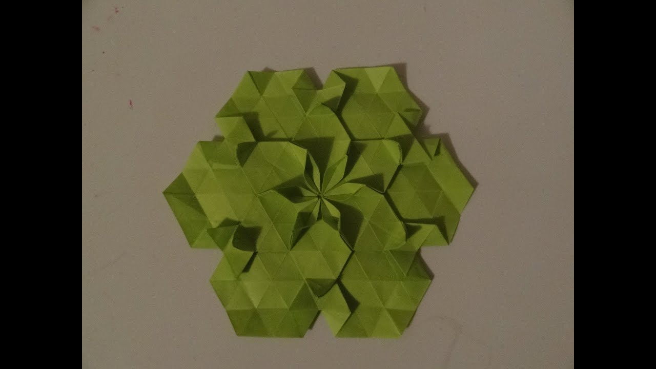 Origami tesselation 1 tutorial youtube dhlflorist Images