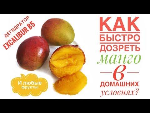 Как дозреть манго в дегидраторе. Сыроедческая кухня с Ульяной