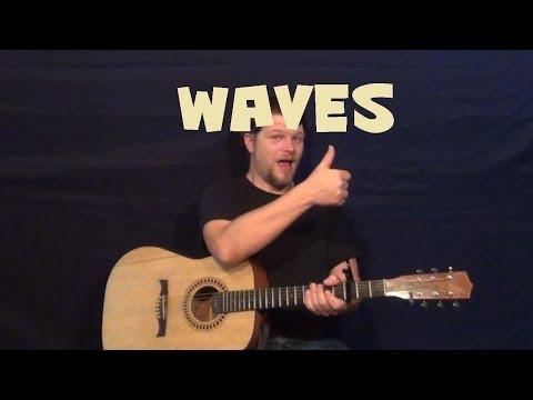 Waves (Mr. Probz) Easy Guitar Lesson How to Play Tutorial