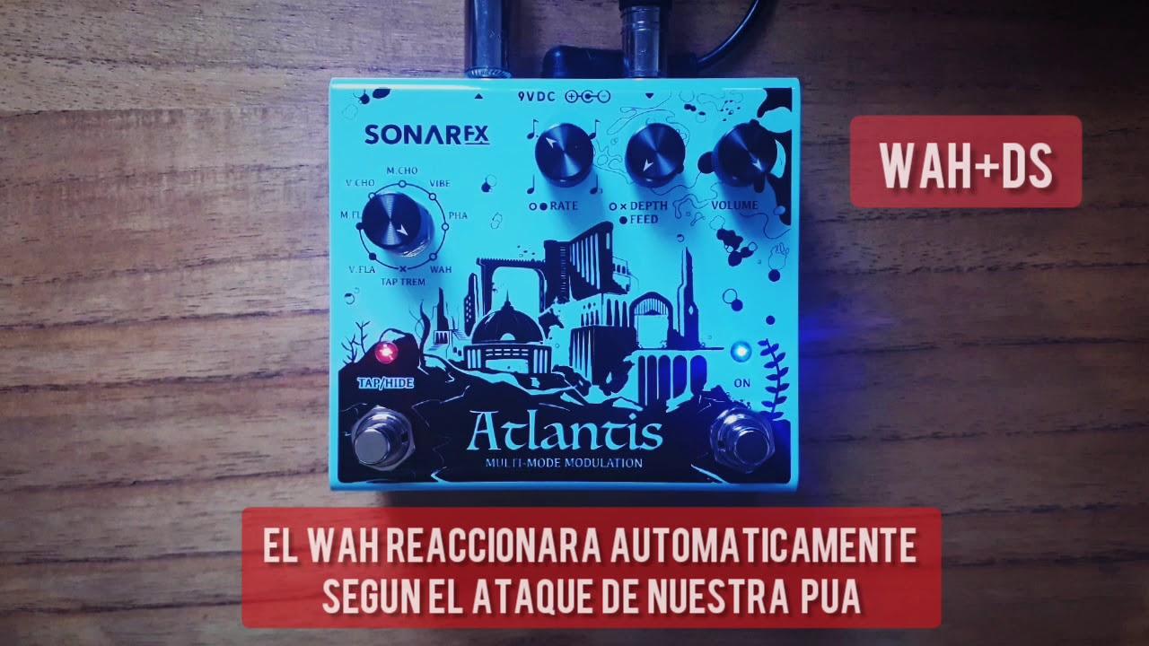 SonAr fx - Atlantis Multimode Modulation - Wah + Distortion
