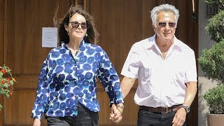 EXCLUSIVE - Dustin Hoffman And Wife Lisa Unfazed By #MeToo Allegations