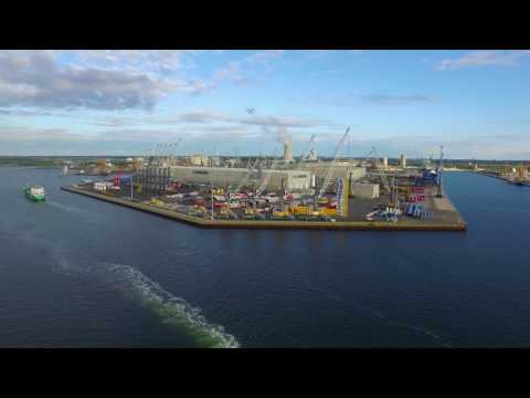 Liebherr - Maritime Cranes Manufacturing Plant Rostock (Germany)