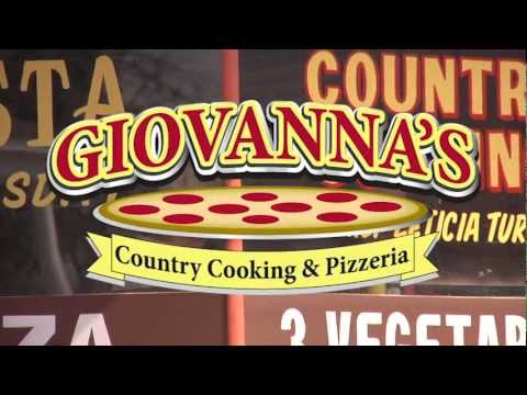 Giovanna's Country Cooking and Pizzeria commercial