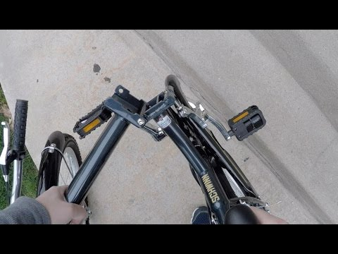 Schwinn Hinge Folding Bike How To Fold And Unfold Pov