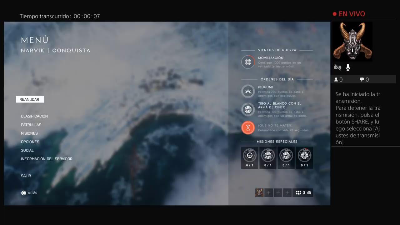 Transmisión de PS4 en vivo de DannyOP11 bttV