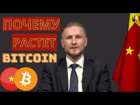 Почему растет Биткоин? // Как Китай влияет на рынок Криптовалют?