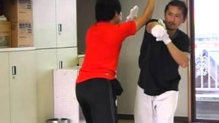 太気拳~直突きへの対応(太氣拳尚武館)Taikiken Shobu-kan Tochigi, Japan