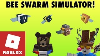 Roblox Bee swarm simulator collab with myles (pro vs. noob) sunbear questline