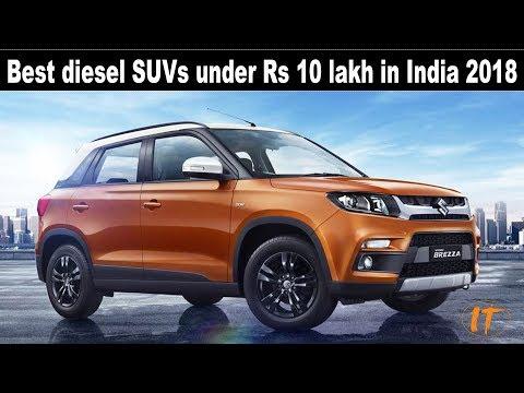 Top 5 Best diesel SUVs under Rs 10 lakh in India 2018