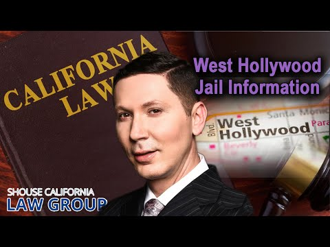 West Hollywood Jail Information (Location, bail, visiting hours)
