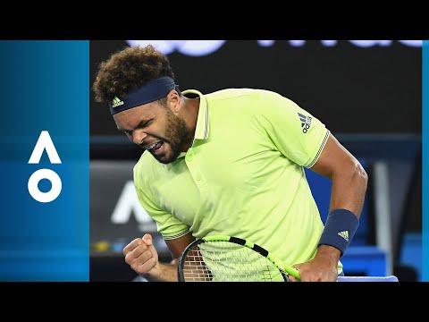 Kevin King v Jo-Wilfried Tsonga match highlights (1R) | Australian Open 2018