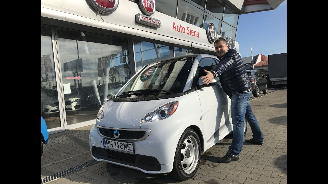 152 # Oare incap in aceasta masina? E cea mai mica pe care am condus-o! # Smart electric drive
