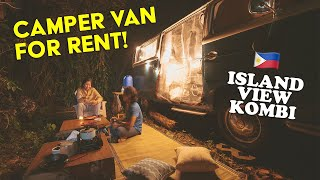 A Taste of VĄN LIFE in the Philippines! | ISLAND VIEW KOMBI 1st Ever Guests! | Van Glamping