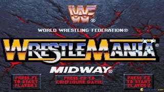 WWF Wrestlemania: the arcade game gameplay (PC Game, 1995)