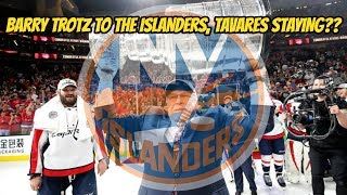 Barry Trotz Signs with Islanders! + Tavares Staying in New York?? | Auddie James