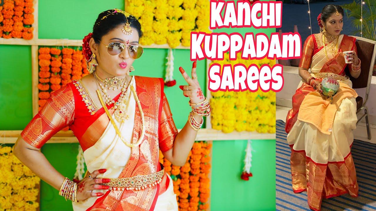 Latest kanchi Kuppadam Sarees | Wedding Sarees Collection