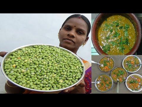 வண்டிக்கடை சுவையில் பட்டாணி மசாலா  / Green Peas Masala / Beach Sundal Masala,