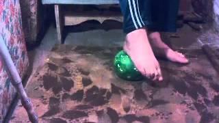 Гимнастика голеностопного сустава после перелома (лодыжки). Gymnastics