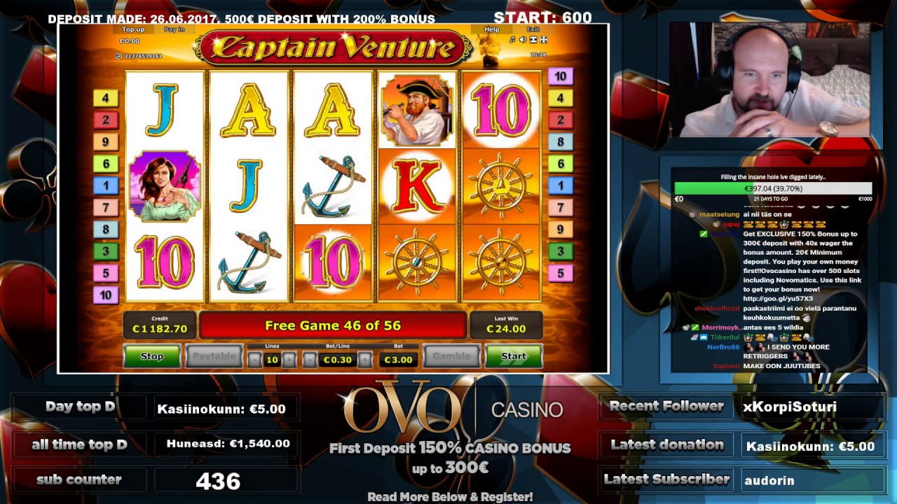 Play Captain Venture for free Online | OVO Casino