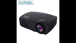 Touyinger Everycom X9 LED HD Projector 3500 Lumens Beamer 1280800 LCD TV Full HD 4K Video Home Theat