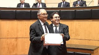 Ato Solene do Parlamento celebra a passagem do Dia do Médico
