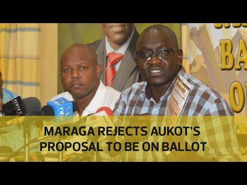 Maraga rejects Ekuru Aukot