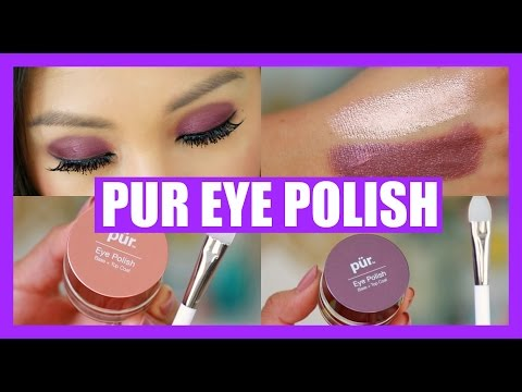 PUR EYE POLISH REVIEW! SWATCHES + DEMOS!